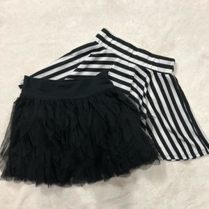 Lot of 2 Girls Skirts -Size 6-7